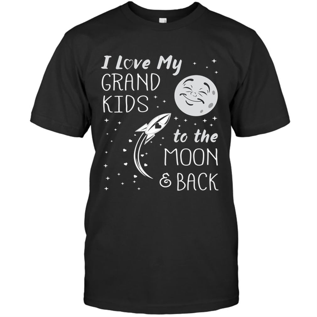 Family - I Love My Grand Kids To Moon Back Size Up To 5xl