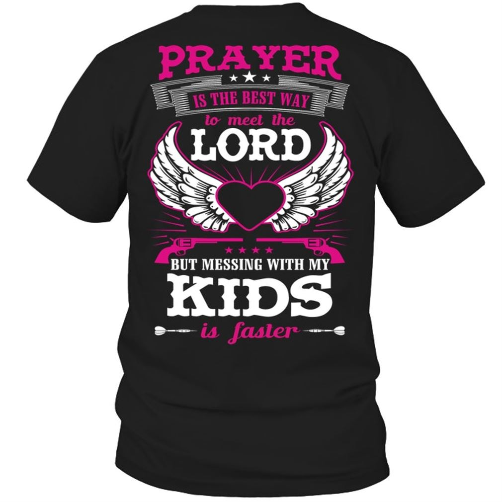 Family - Prayer Is The Best Way To Size Up To 5xl
