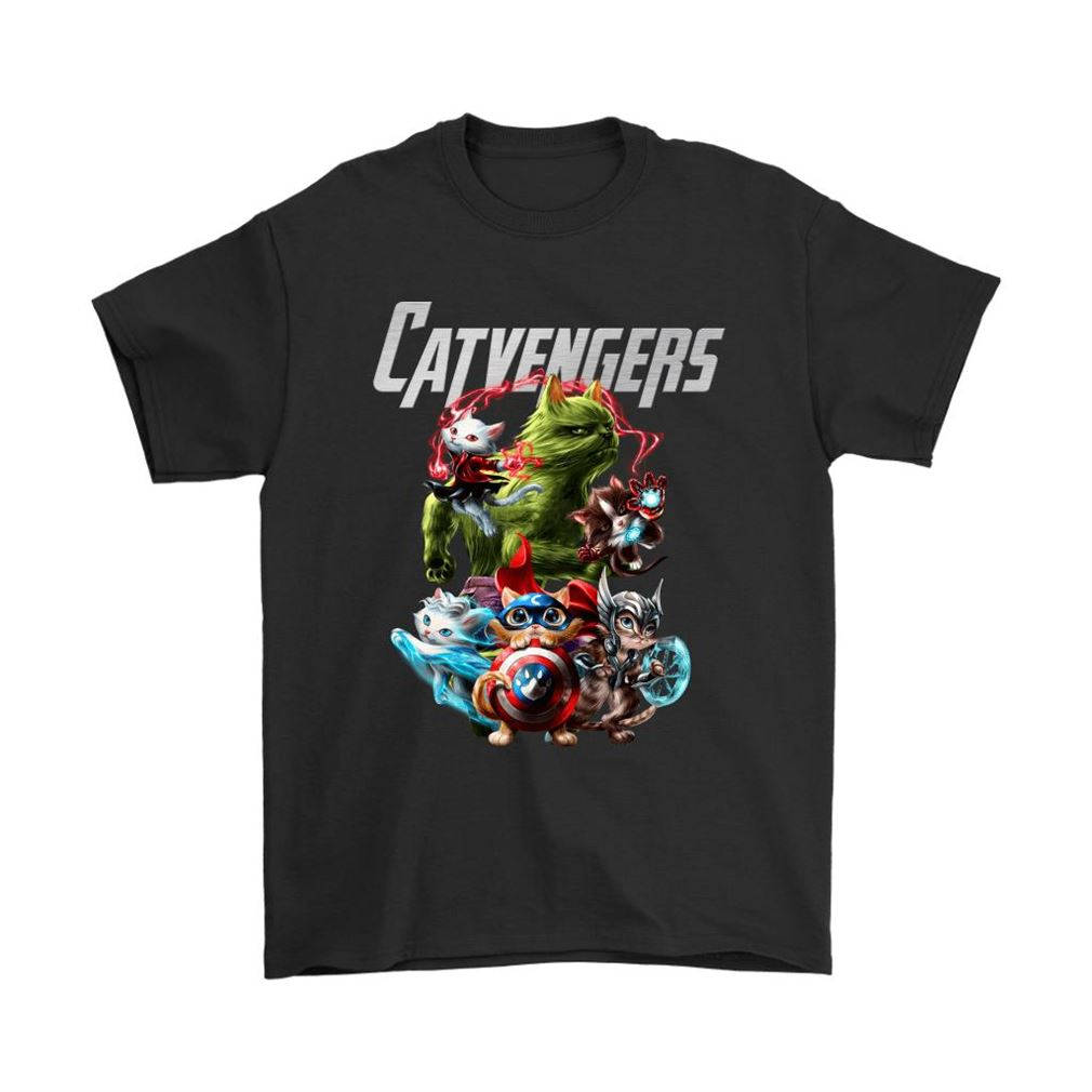 Catvengers Awesome Cats Avengers Shirts Full Size Up To 5xl