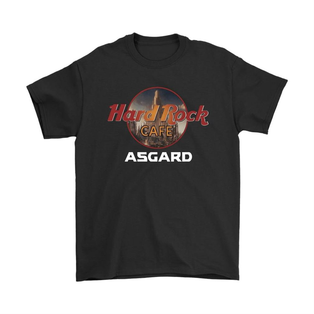 Hard Rock Cafe Asgard Marvel Avengers Shirts Size Up To 5xl