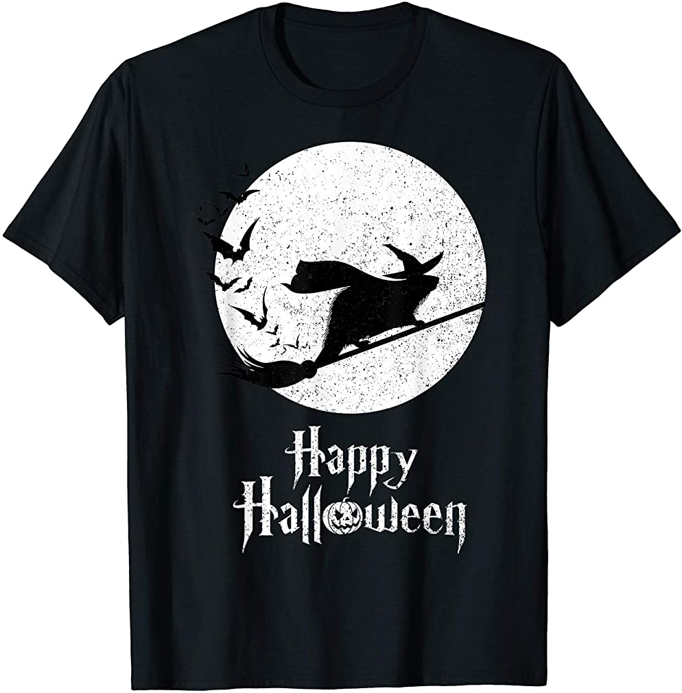 Funny Halloween Costume Witch Beaver Lover Gift T-shirt Size Up To 5xl