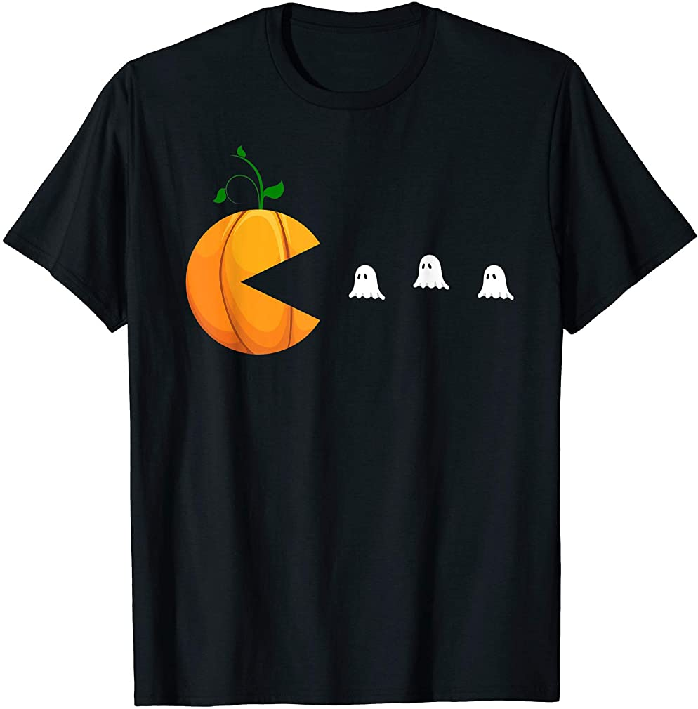 Funny Halloween Shirts For Women Kids Men Pumpkin Ghosts T-shirt Size Up To 5xl