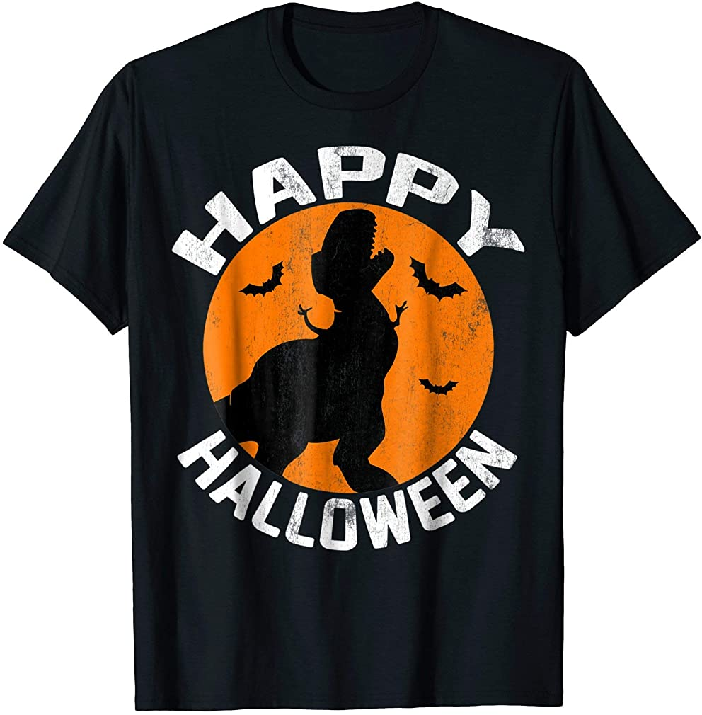 Pixar Toy Story Rex Happy Halloween Graphic T-shirt Plus Size Up To 5xl