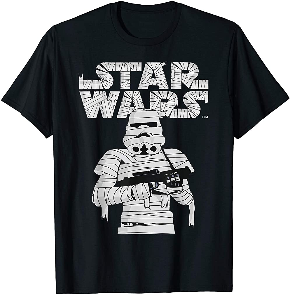 Stormtrooper Mummy Halloween Costume T-shirt Size Up To 5xl