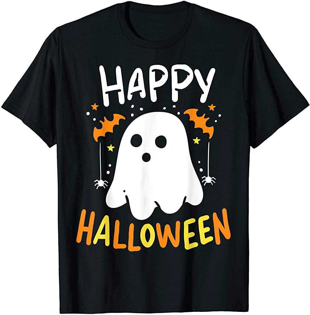 Trick Or Treat Halloween Ghost Shirt T-shirt Size Up To 5xl