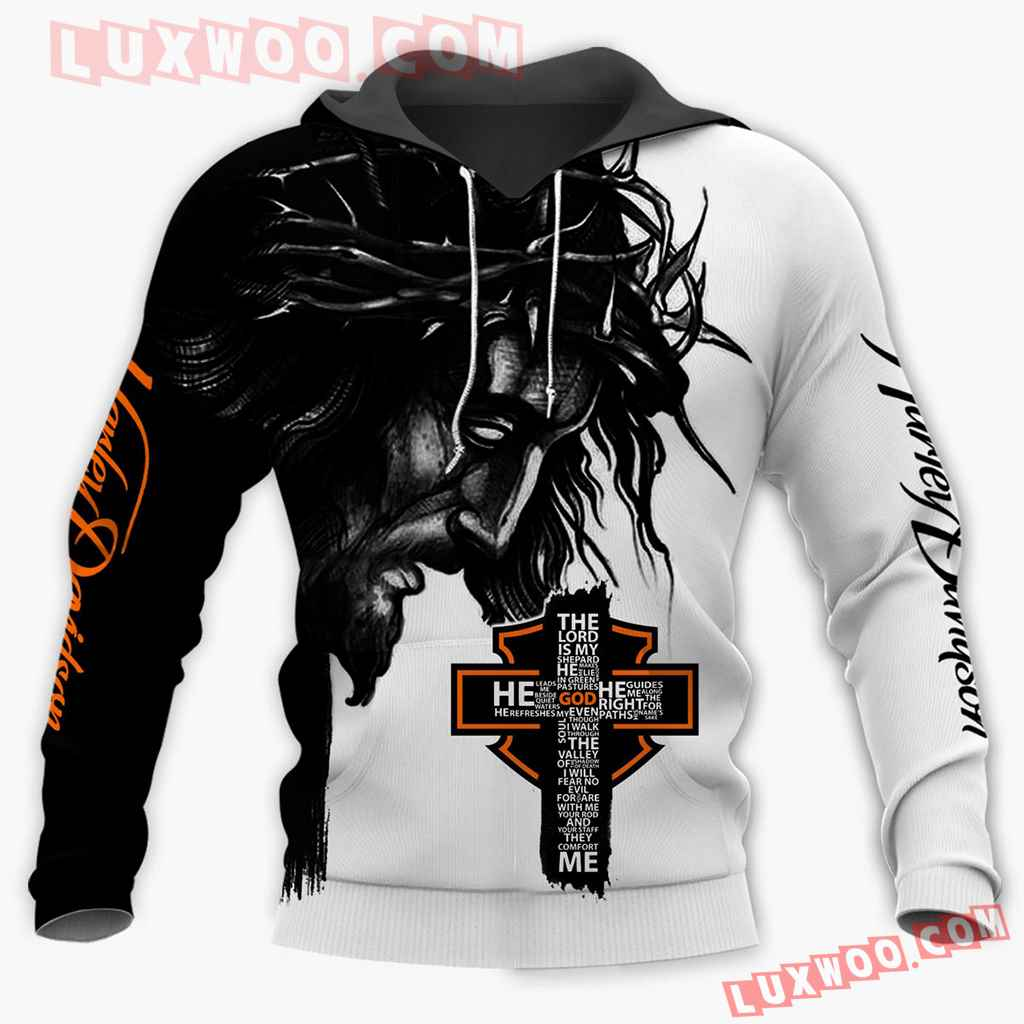 Harley Davidson Motorcycle Cross 3d Hoodies Printed Zip Hoodies V1