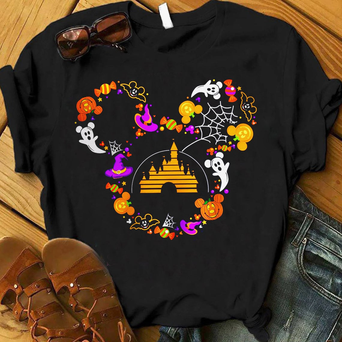 Disney Mickey Halloween Shirt, Best Tshirt Halloween Horror Movie Squad 2020