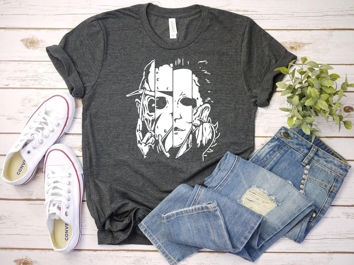 Freddy Jason Michael Thomas Shirt Horror Shirt