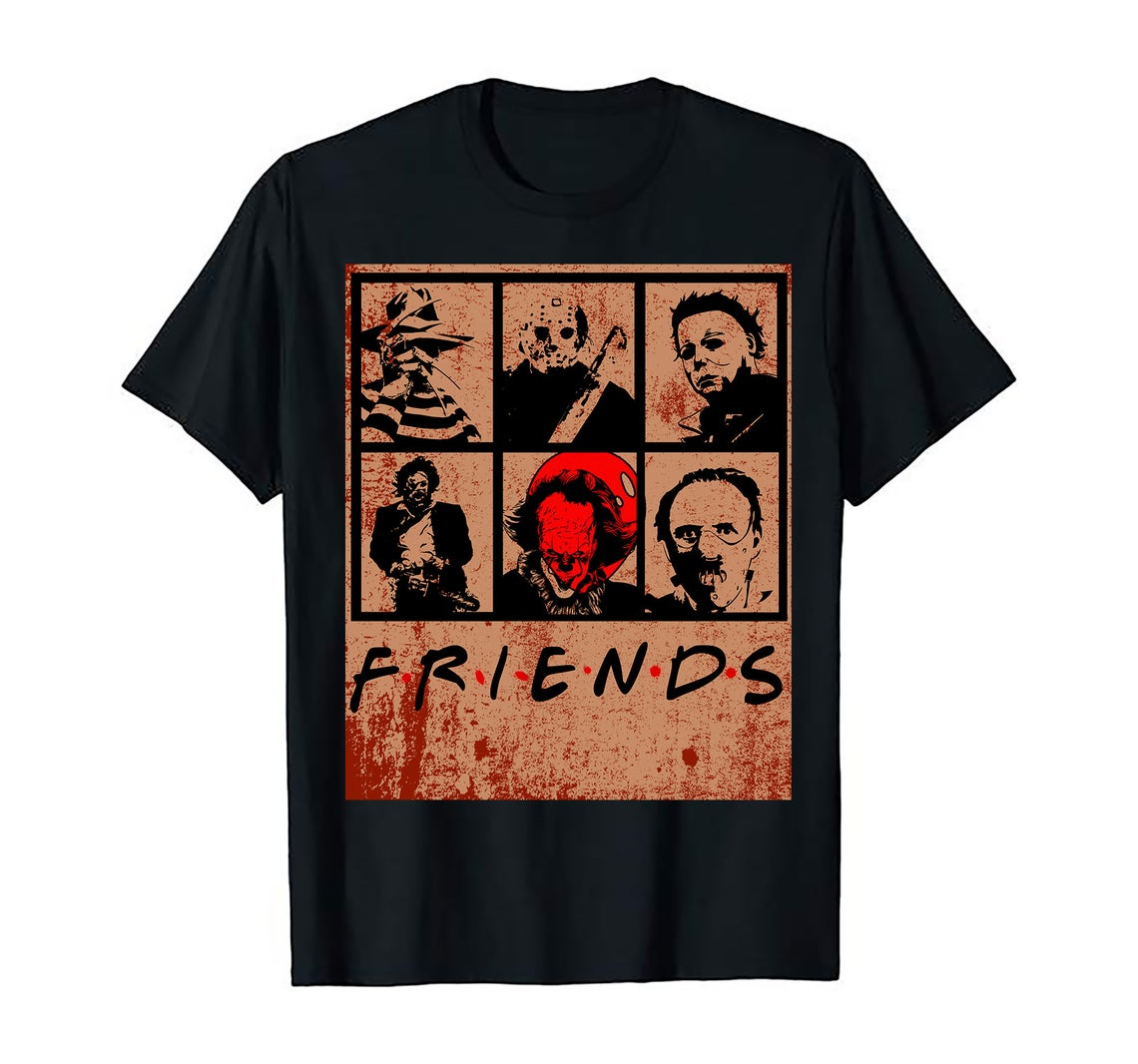 Friends Scary Movies T-shirts