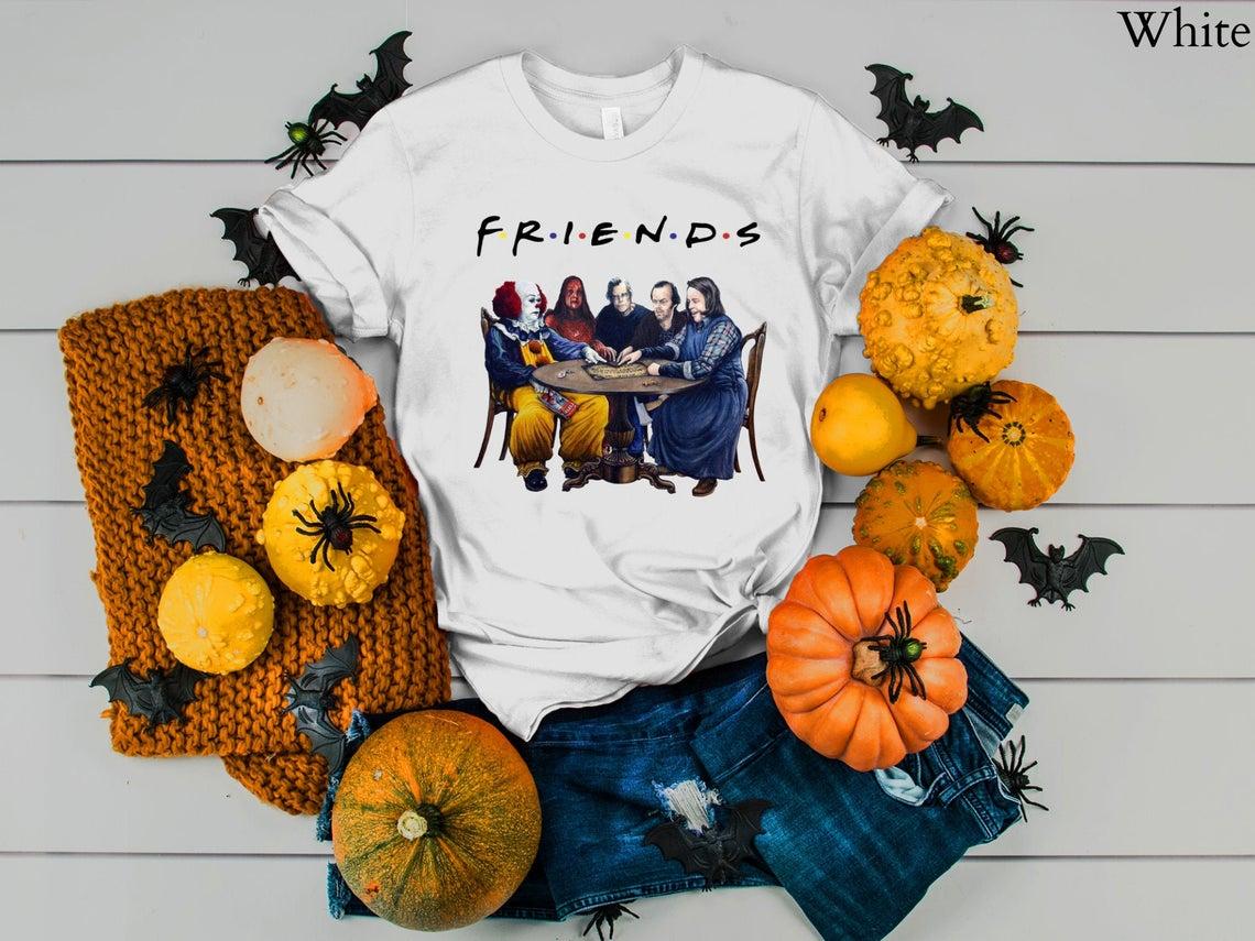 Friends Stephen King Movie Villains T-shirt