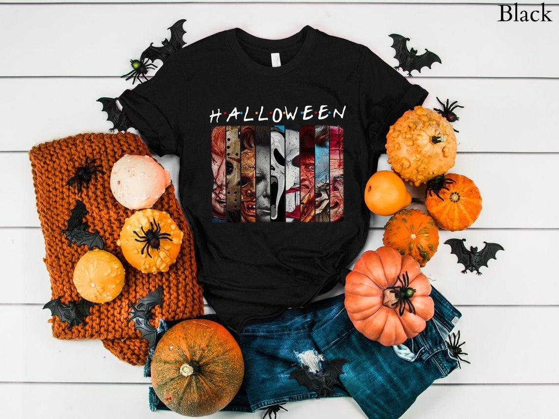 Halloween Villains Graphic T-shirt