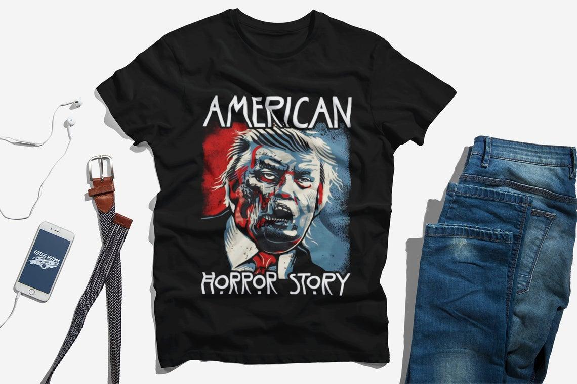 Merican Horror Story Halloween Zombie Trump 2020