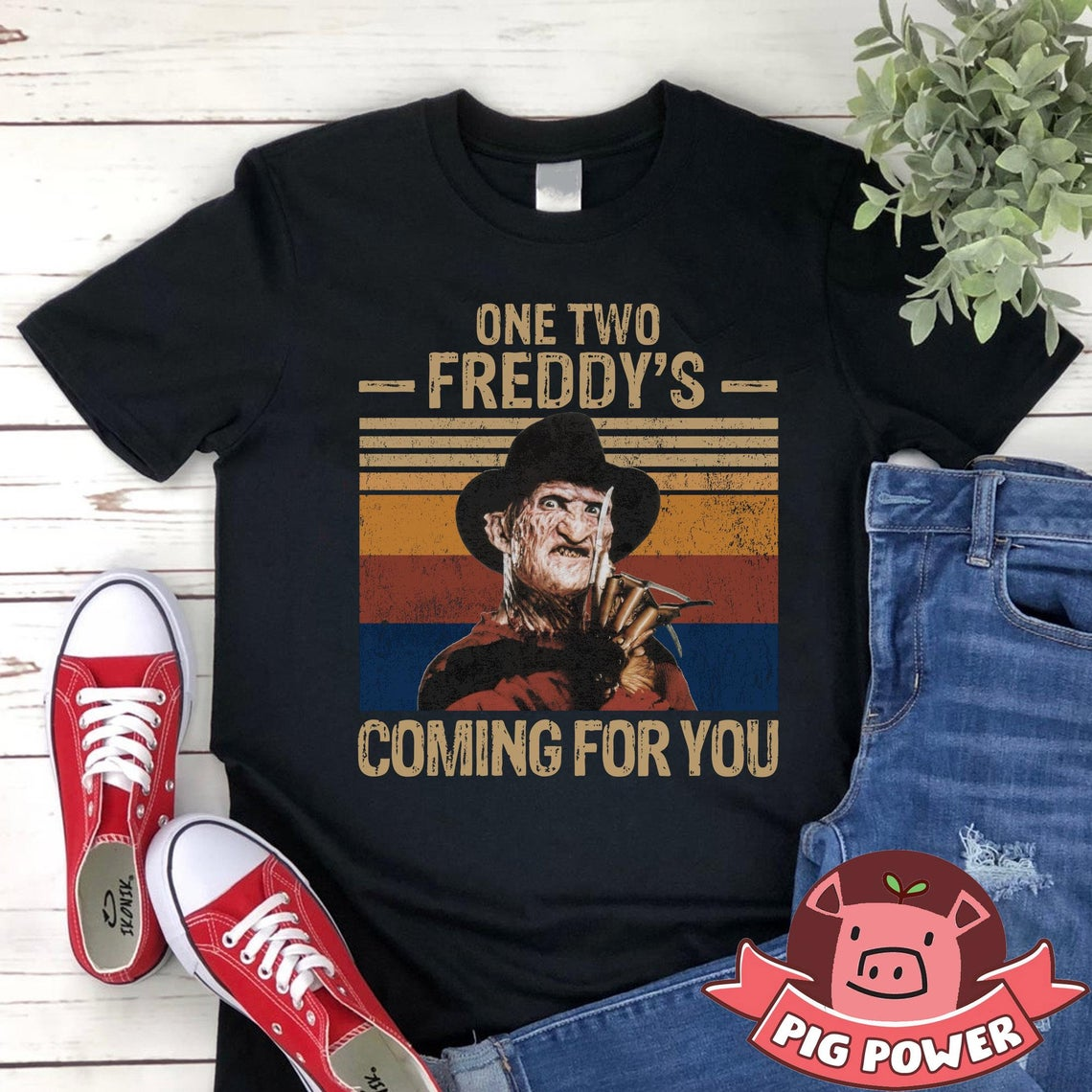 One Two Freddys Coming For You Shirt Freddy Krueger T-shirt