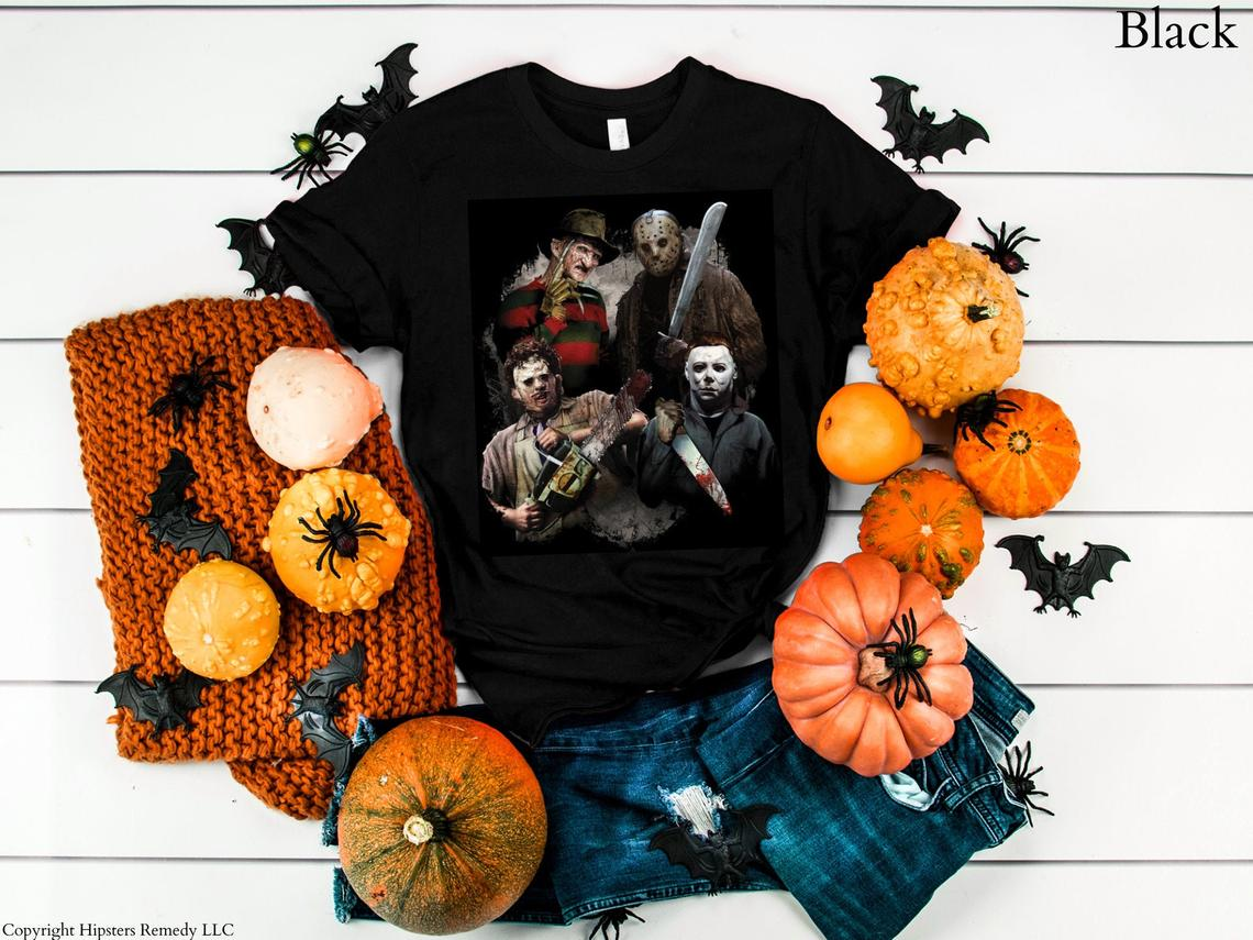 Scary Movie Villain T-shirt