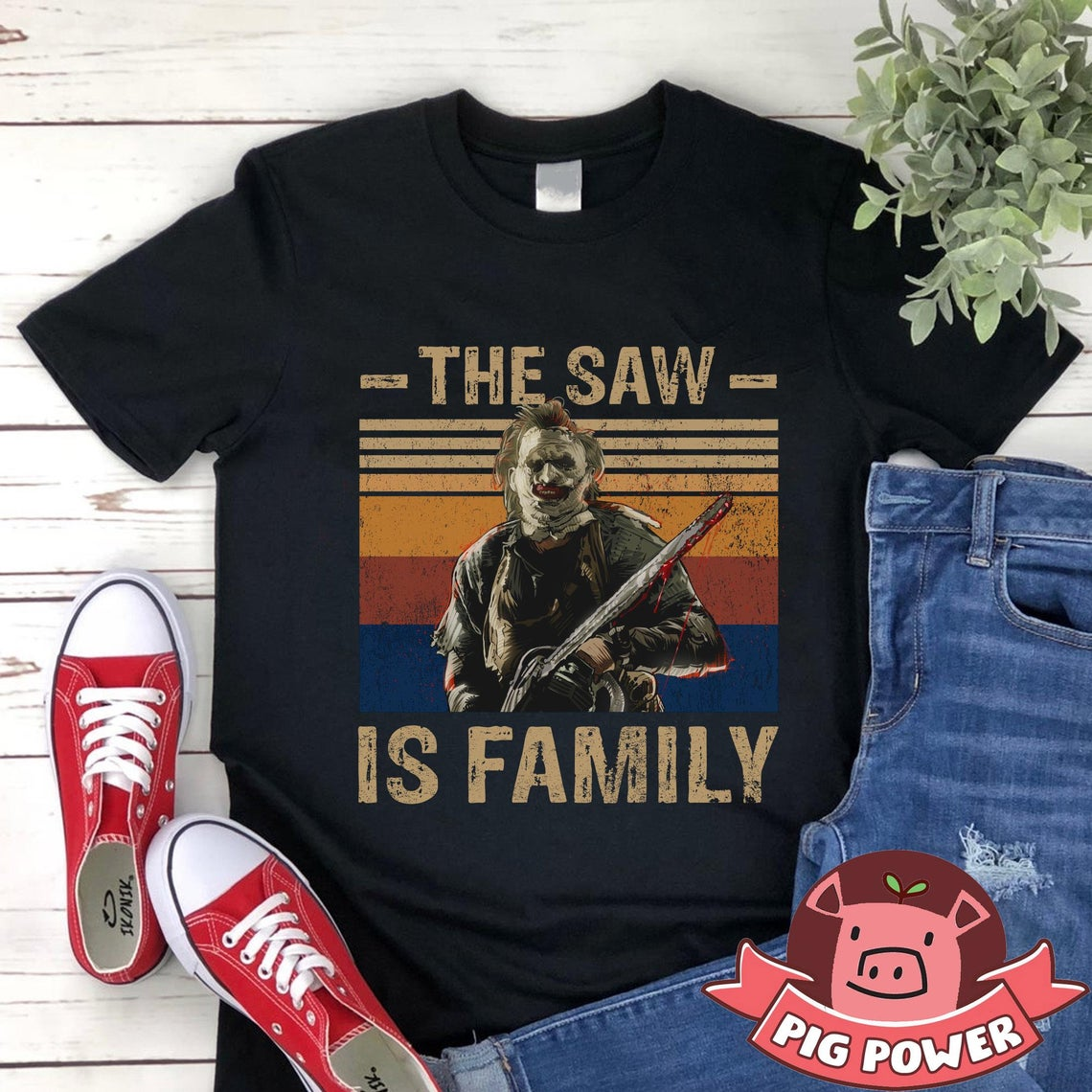 The Saw Is Family Shirt Vintage