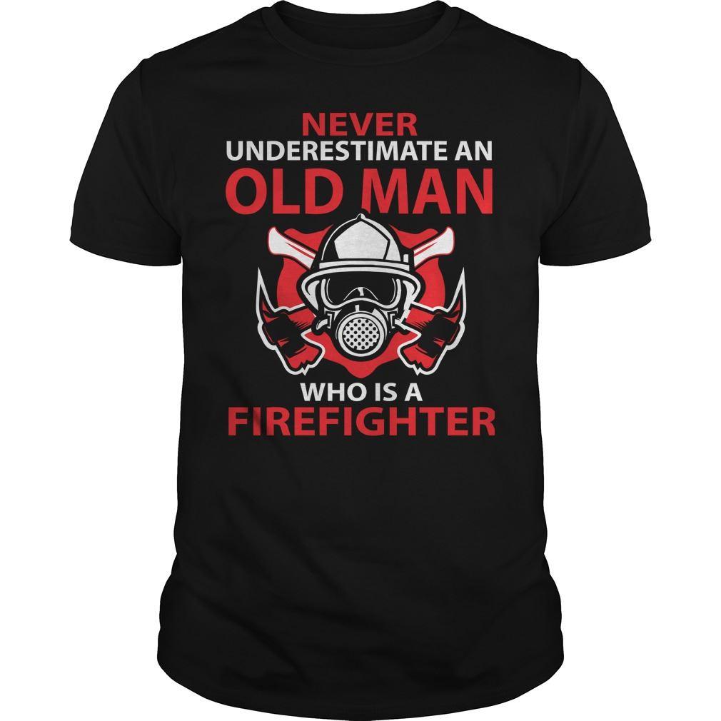 Firefighter - Fire - Firefighting - Shirt Sport Grey Plus Size Up To 5xl