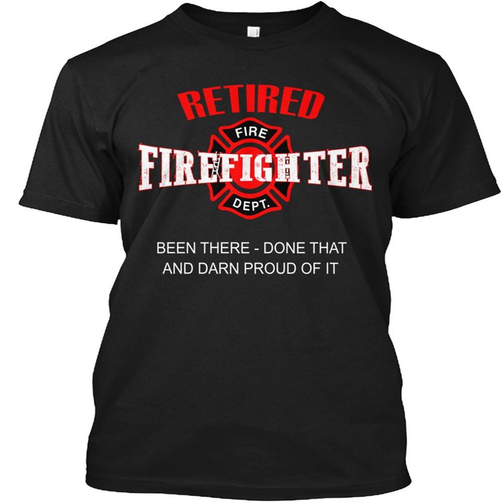 Retired Firefighter Size Up To 5xl