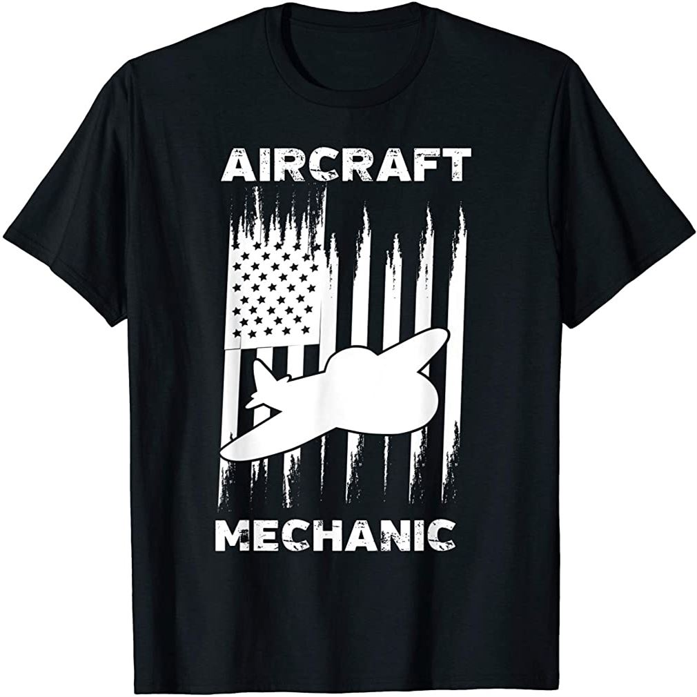 Aircraft Mechanic Cute Aircraft Work Gift T-shirt Size Up To 5xl