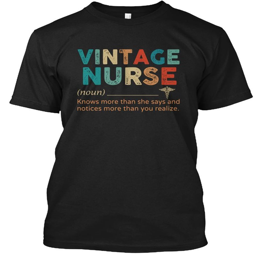 Vintage Nurse Size Up To 5xl