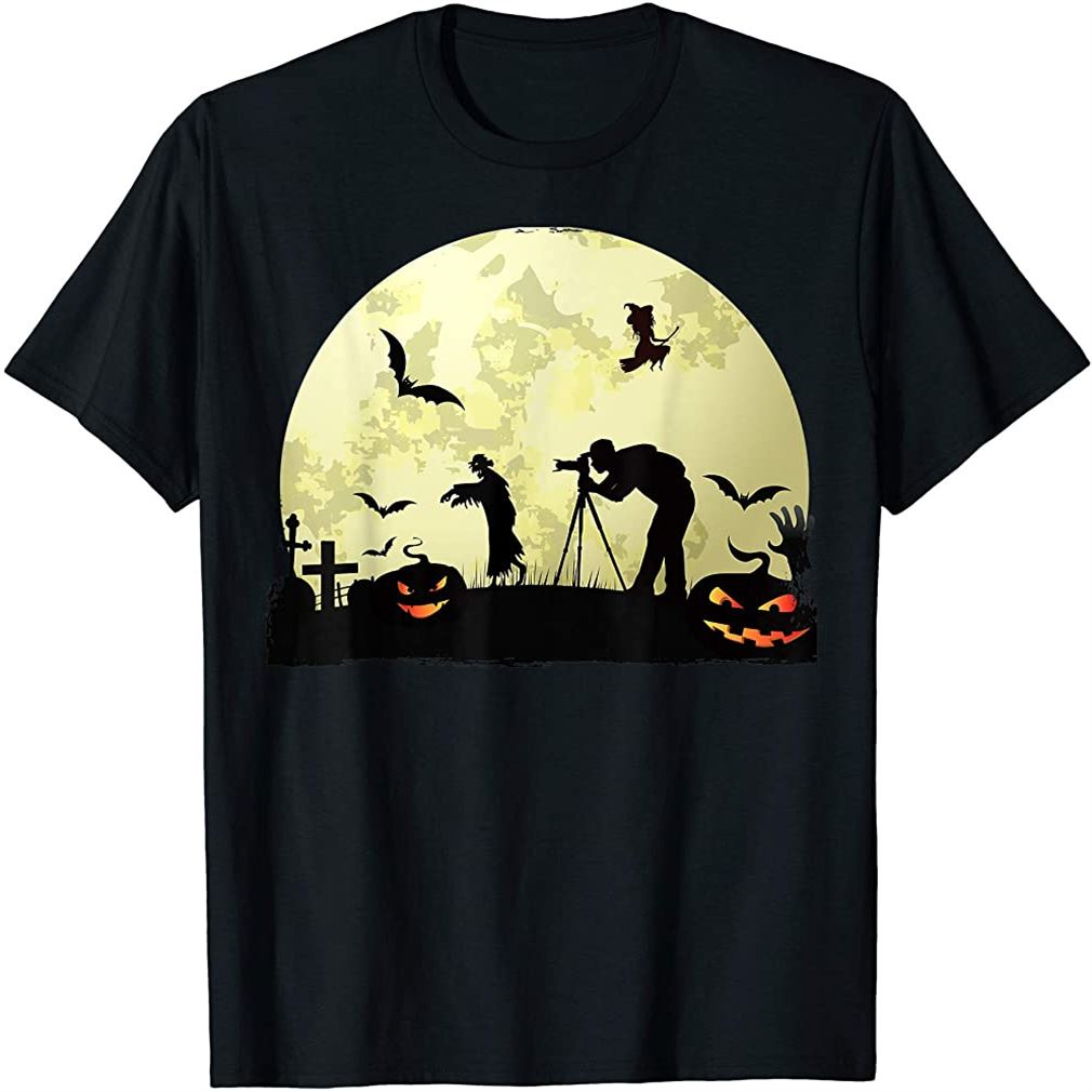 Halloween Photographer - Halloween Costume For Photographer T-shirt Plus Size Up To 5xl