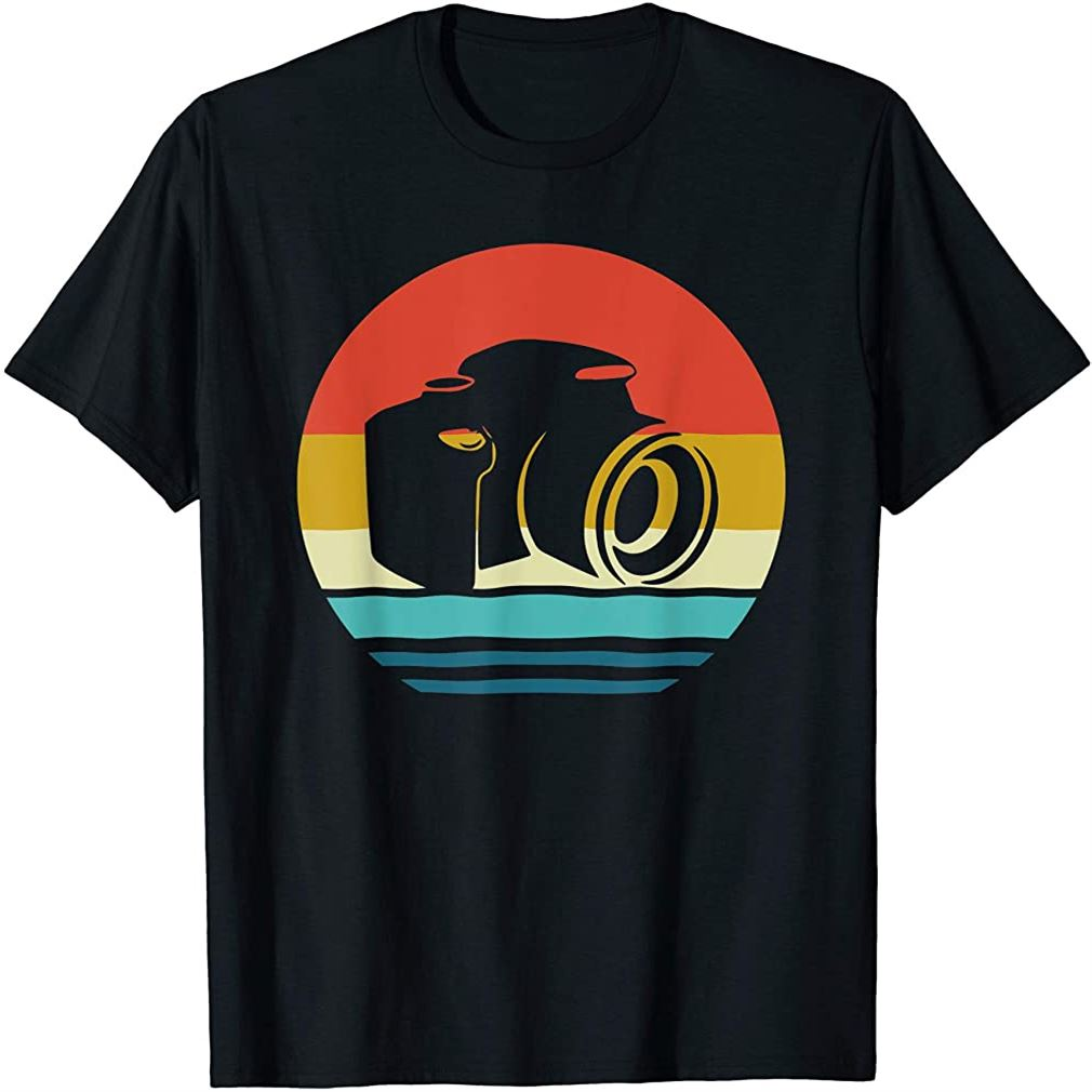 Photography Shirt Retro Vintage Photographer Lovers Gift T-shirt Plus Size Up To 5xl