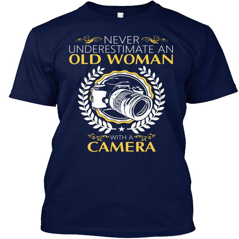 T-shirt Photography Never Underestimate Plus Size Up To 5xl