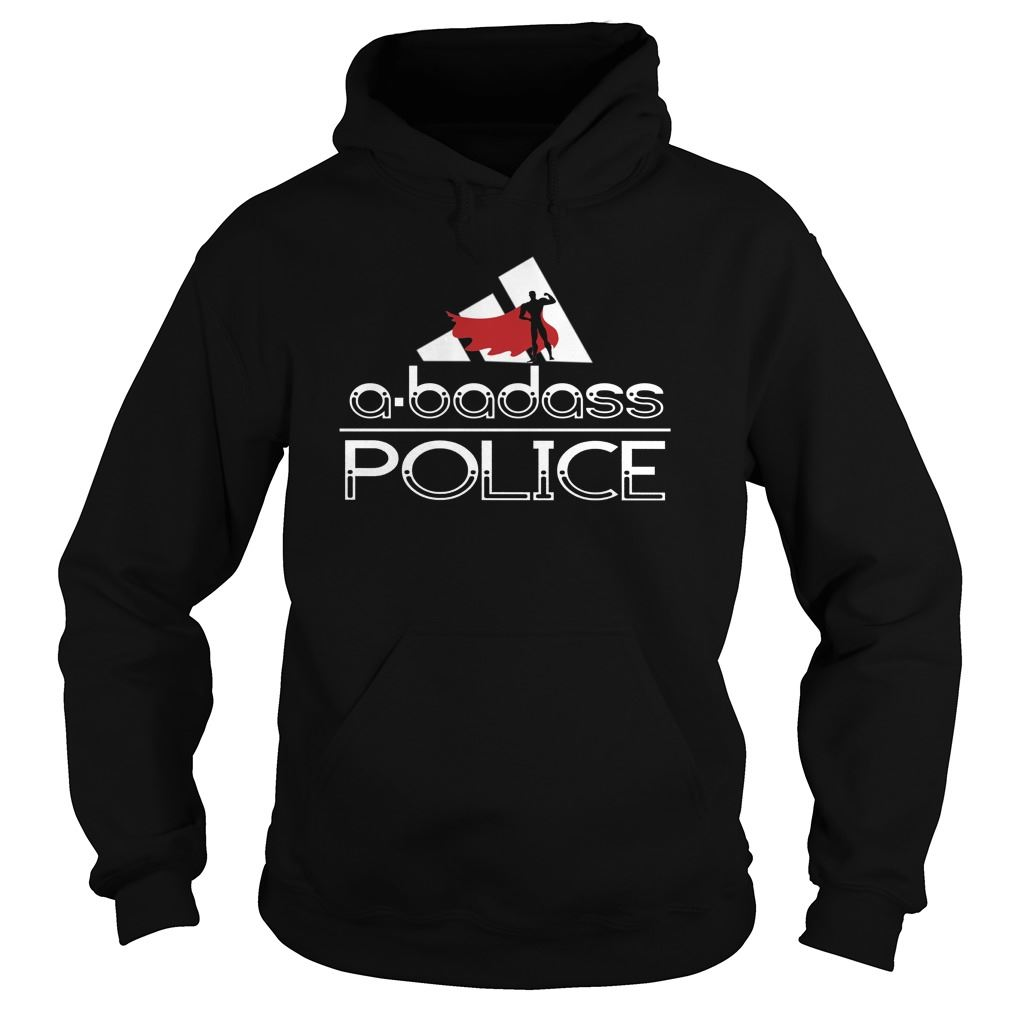 Police A Badass Super Police - Hoodie Plus Size Up To 5xl