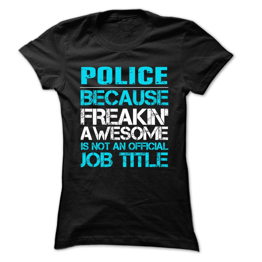 Police Job Title- 999 Cool Job Shirt Plus Size Up To 5xl