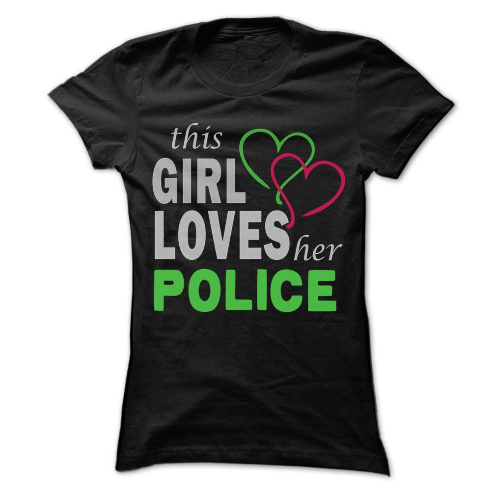 This Girl Love Herpolice - Cool Job Size Up To 5xl