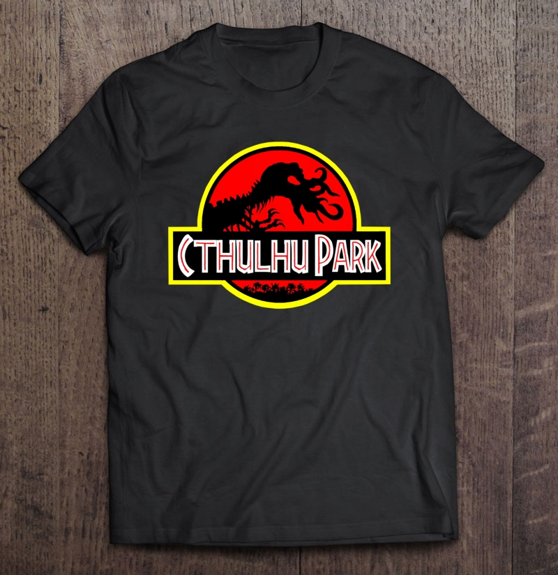 Cthulhu Park Classic Plus Size Up To 5xl