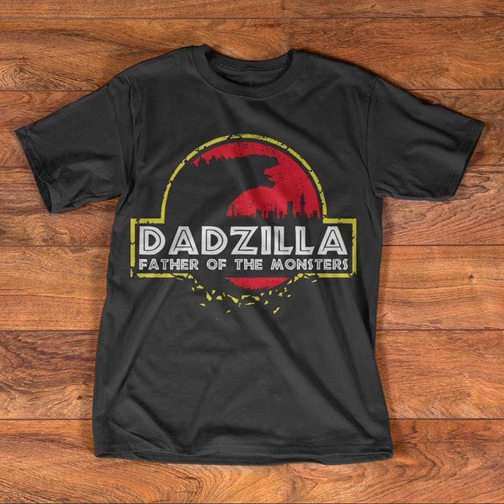 Dadzilla Father Of The Monsters Godzilla Jurassic Park 9tapg Plus Size Up To 5xl
