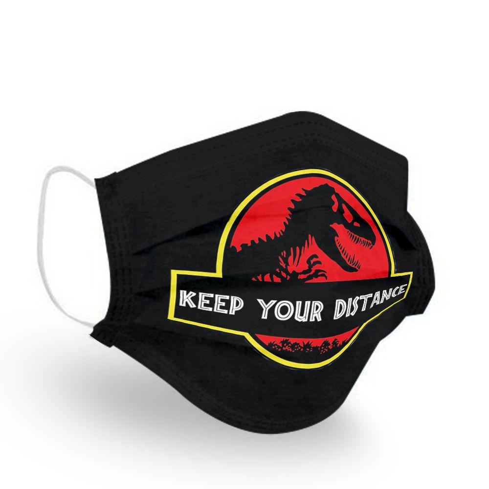Jurassic World 3 Dinosaurus T Rex Jurassic Park Mask Full Size