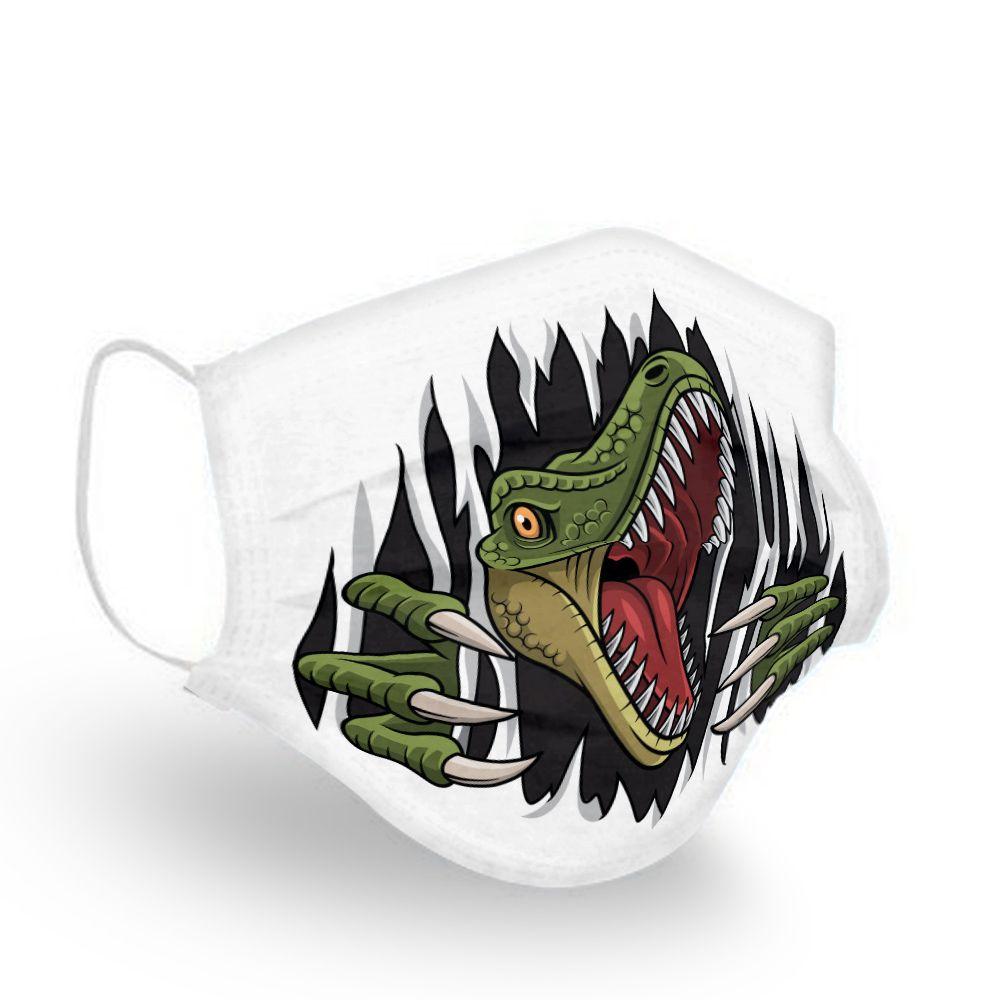 Jurassic Park Movies Dinosaurus T Rex Jurassic Park Mask Full Size