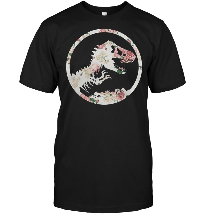 Floral Jurassic Park Size Up To 5xl