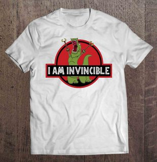 I Am Invincible Jurassic Park Version Plus Size Up To 5xl Plus Size Up To 5xl