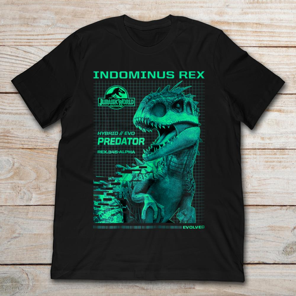 Indominus Rex Jurassic World Hybrid Evo Predator Rex 345 Alpha Size Up To 5xl Size Up To 5xl