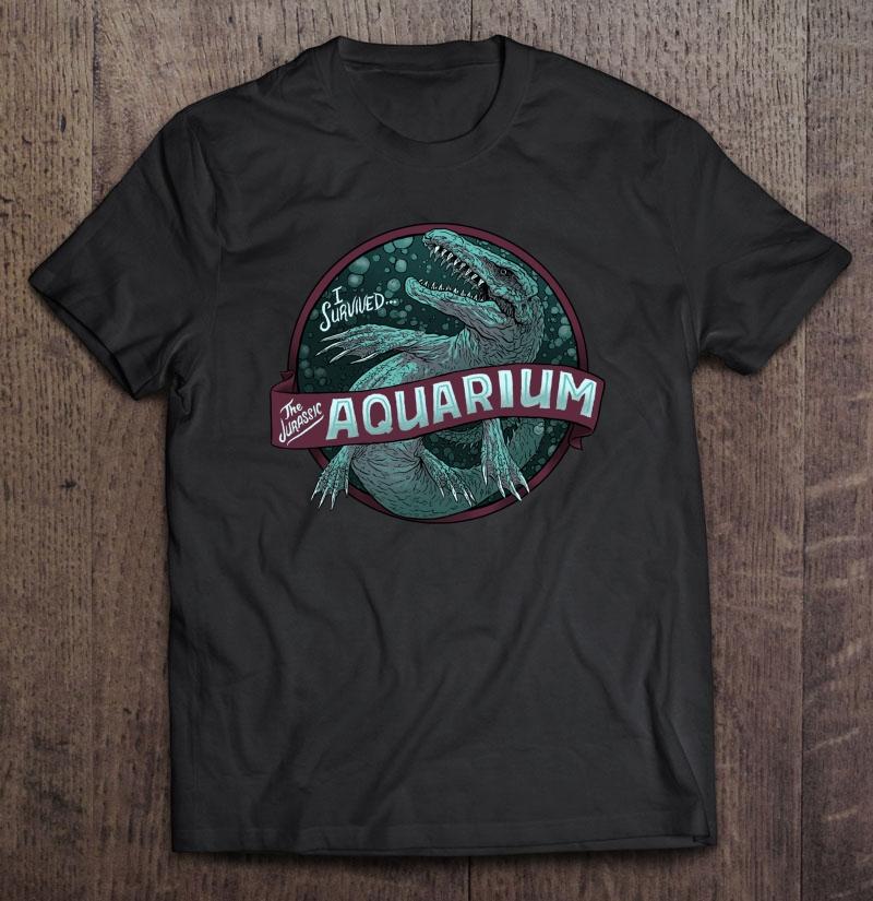 Jurassic Aquarium Plus Size Up To 5xl Plus Size Up To 5xl