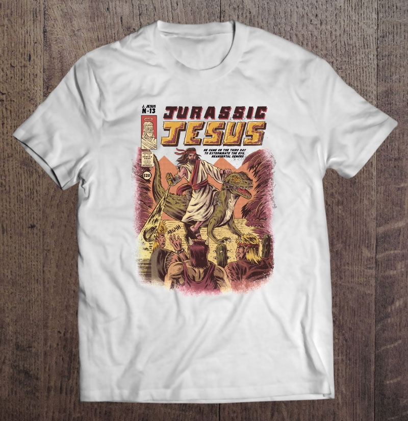 Jurassic Jesus Classic Plus Size Up To 5xl Plus Size Up To 5xl