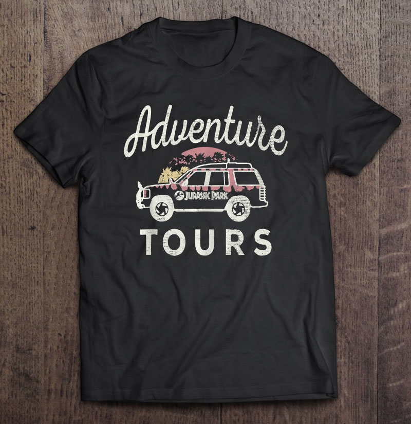 Jurassic Park Adventure Tours Safari Jeep Full Size Up To 5xl