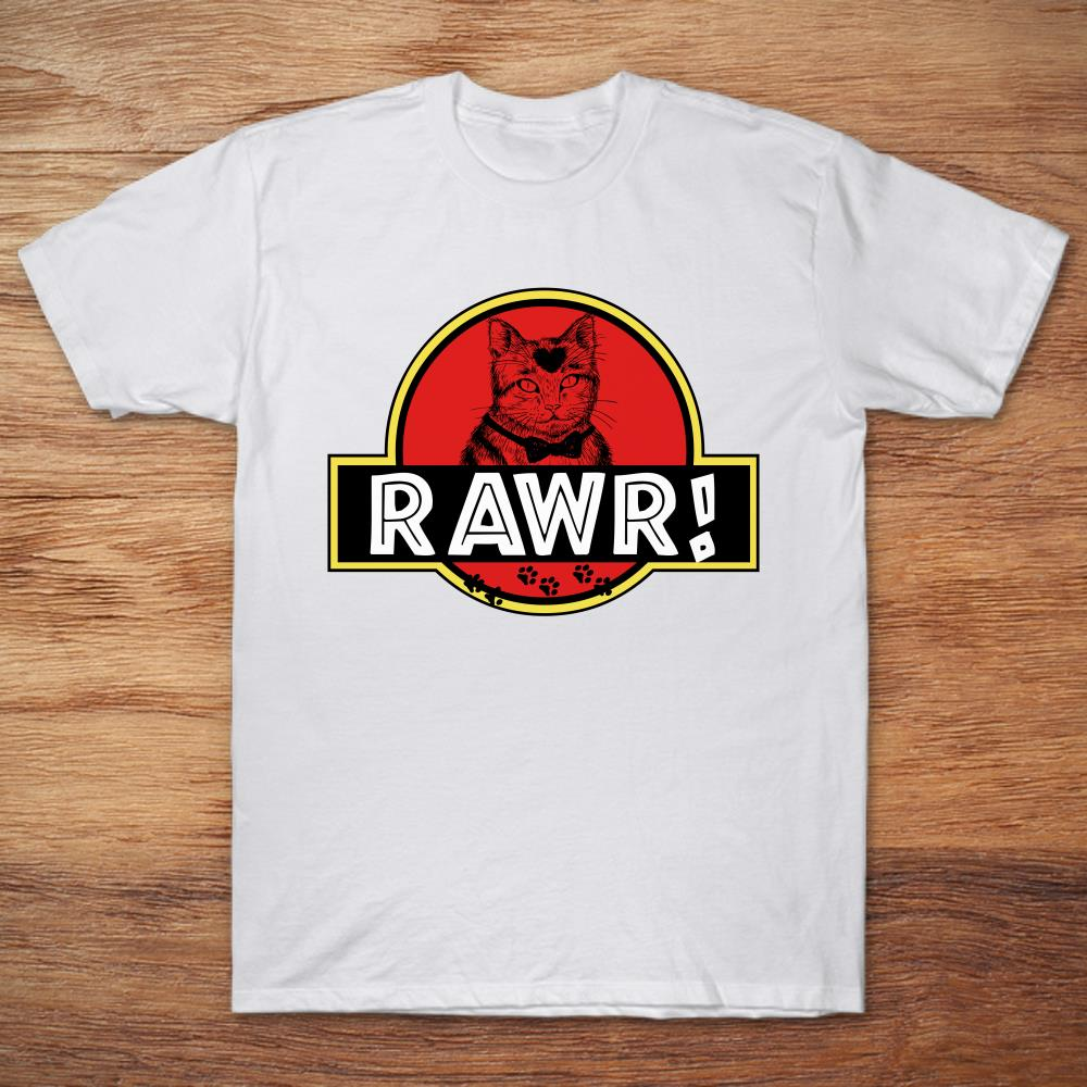 Jurassic Park Rawr Cat Plus Size Up To 5xl Plus Size Up To 5xl