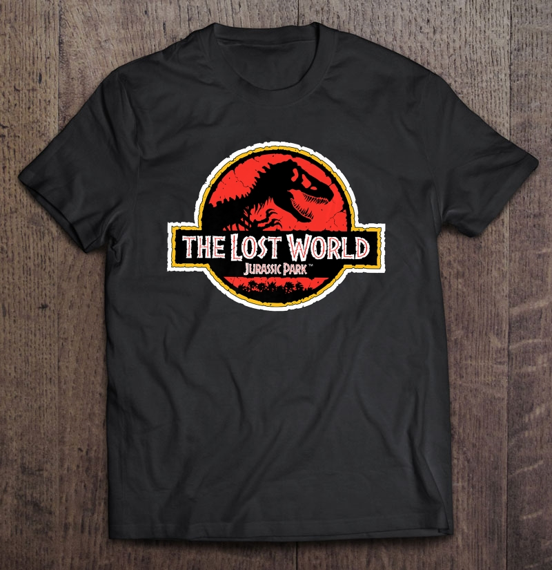 Jurassic Park The Lost World Movie Logo Plus Size Up To 5xl Plus Size Up To 5xl