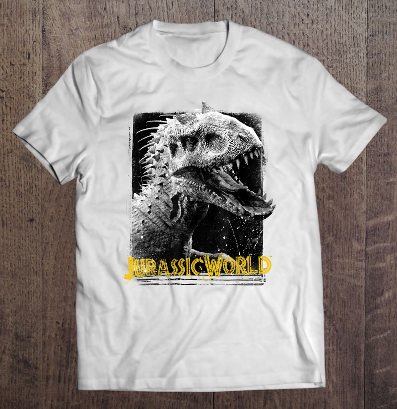 Jurassic World Indominus Rex Profile View Full Size Up To 5xl Size Up To 5xl