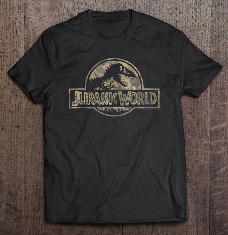 Jurassic World Sand Camo Classic Logo Tank Top Plus Size Up To 5xl Size Up To 5xl