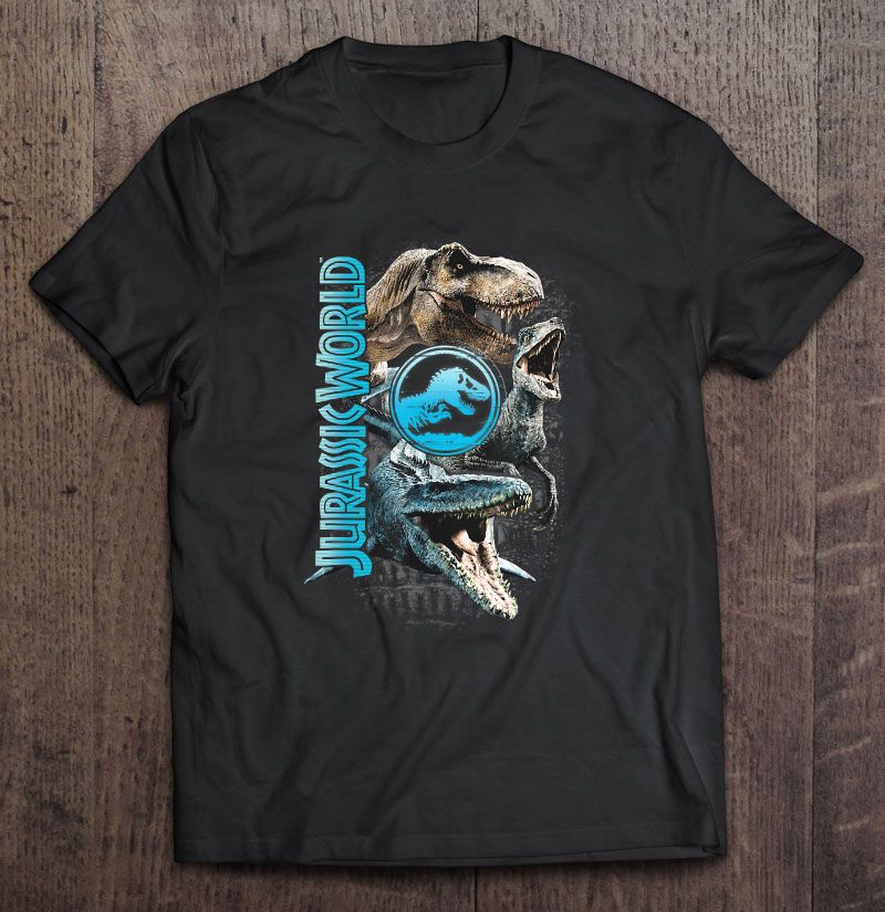 Jurassic World Two Dinosaur Logo Plus Size Up To 5xl Size Up To 5xl
