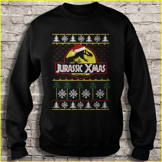 Jurassic Xmas Plus Size Up To 5xl Size Up To 5xl