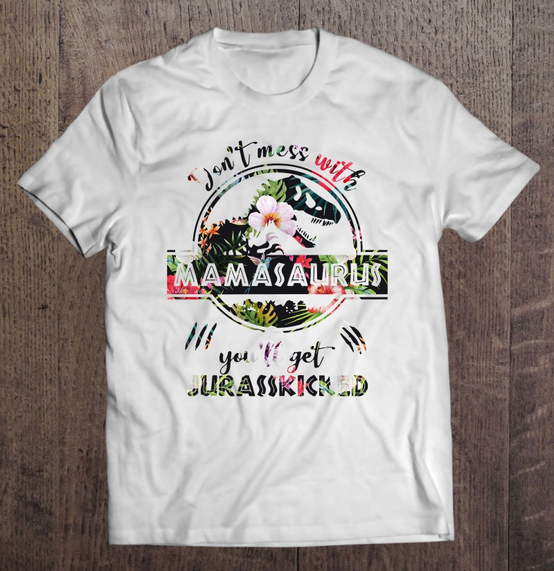 Mamasaurus Jurasskicked Classic Plus Size Up To 5xl