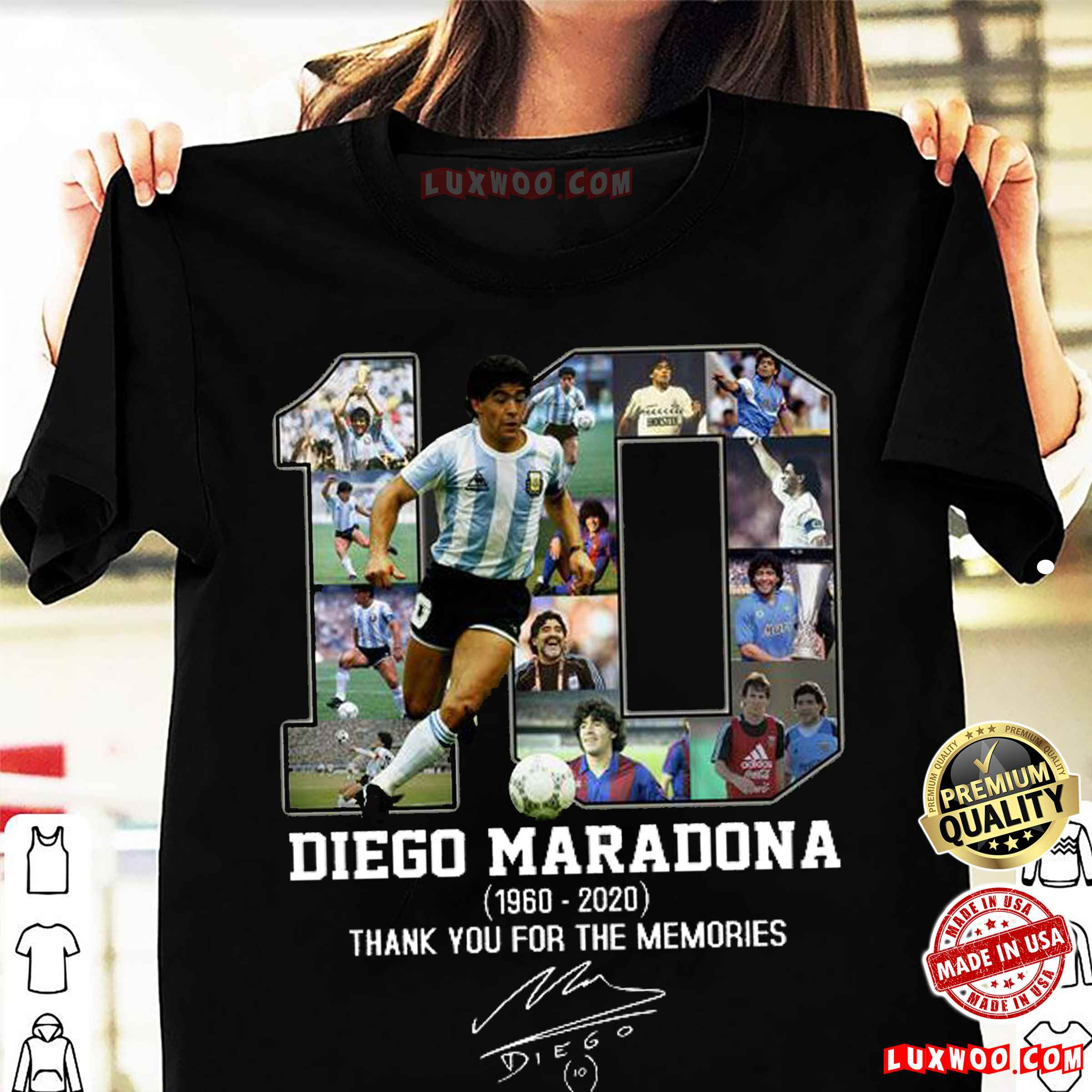 Diego-maradona-argentina-football-t-shirt-maradona-the-golden-boy-hand-of-god-than-you-for-the-memories-1960-2020