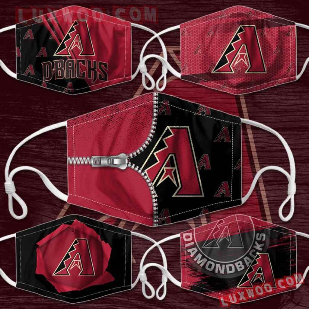 Mlb Arizona Diamondbacks 3d Face Mask Combo 5 V2