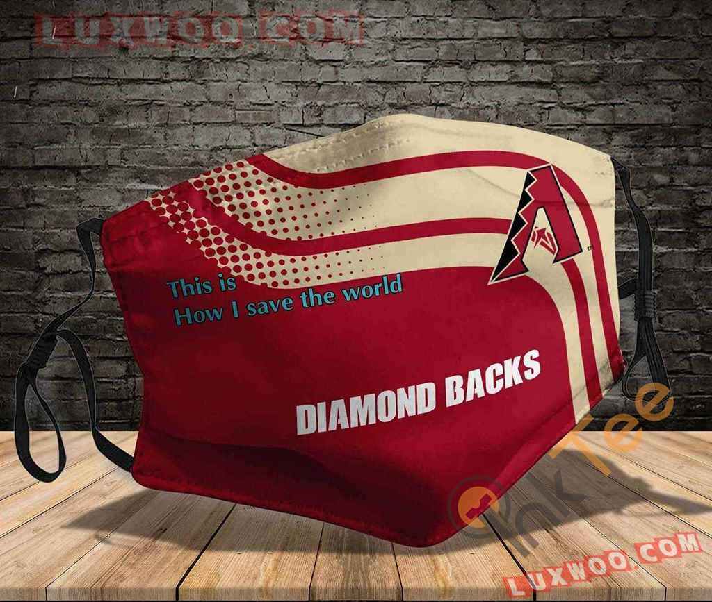 Mlb Arizona Diamondbacks 3d Face Mask V1