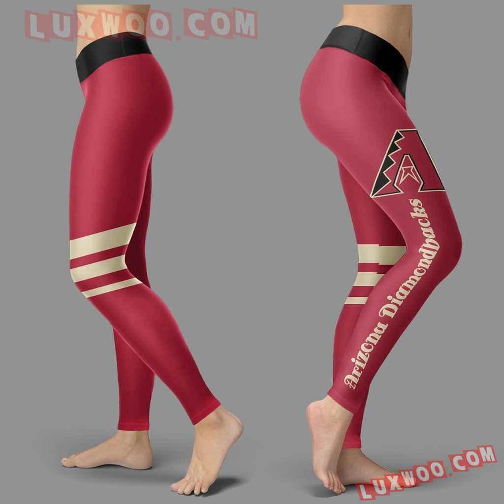 Mlb Arizona Diamondbacks Leggings 3d Custom Print Leggings Sport V3